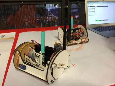 Mirobot—a WiFi robotics kit at Maker Faire UK | Open Source Hardware News | Scoop.it