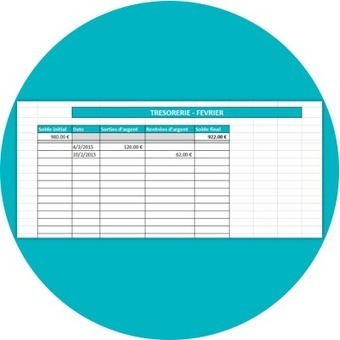 Fichier Excel de gestion de trésorerie | Outils gratuits pour entrepreneurs | Scoop.it