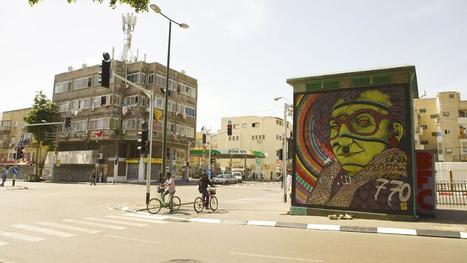 Tel-Aviv : l'art pigmente la ville blanche | Créativité urbaine | Scoop.it
