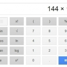 Google Search Interface Now Sports Scientific Calculator | technologies | Scoop.it