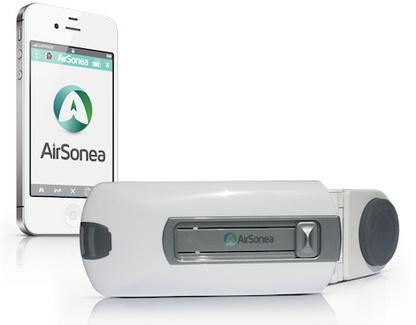 AirSonea Wheeze monitor para seguimiento de los síntomas del asma (Vídeo) | Ingeniería Biomédica | Scoop.it