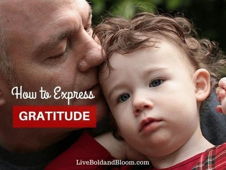 How To Practice Gratitude   self-confidence   Scoop.it