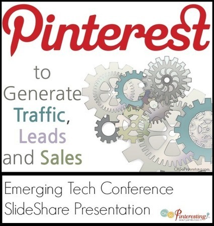 How to Use Pinterest to Generate Traffic, Leads and Sales | Oh So Pinteresting | HN AGENCY | Scoop.it