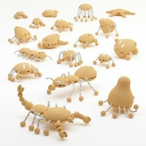 Creative Wooden Creatures Wooden Toy | Education in and beyond the 21st Century | Scoop.it
