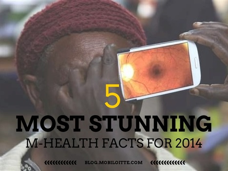 The 5 Most Stunning M-Health Facts for 2014! - Mobiloitte Blog | Salud Móvil (mHealth) | Scoop.it