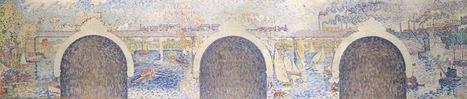 Le projet de décors pour la mairie d'Asnières-sur-Seine de Paul Signac présenté au  Musée Fabre de Montpellier | L'actu culturelle | Scoop.it