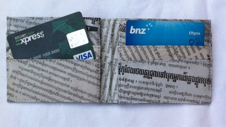 Recycled Paper Wallets