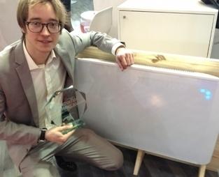 Doté d'une batterie et intelligent: le radiateur de la start-up grenobloise Lancey remporte le prix de l'innovation Pollutec   Lyon Business   Scoop.it