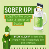 INFOGRAPHIC: How to protect your smartphone from a St. Patrick's Day disaster | Anything Mobile | Scoop.it