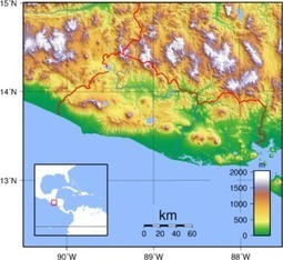 Geography of El Salvador - Wikipedia, the free encyclopedia | El Salvador, Kailin Sweet | Scoop.it
