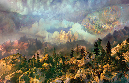 It's Nice That : Art: Astonishing landscapes created in 200-gallon tanks of water by artist Kim Keever | Matmi Staff finds... | Scoop.it