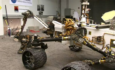 Curiosity Rover Gets Practice Time Before Mars Landing - IEEE Spectrum | The Robot Times | Scoop.it