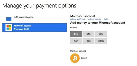 Microsoft Adds Bitcoin Payments for Xbox Games and Mobile Content | BINÓCULO CULTURAL | Monitor de informação para empreendedorismo cultural e criativo| | Scoop.it