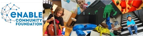 #EnableHands #3DPrinted Prosthetic Limbs - Enable Community Foundation | iPads, MakerEd and More  in Education | Scoop.it