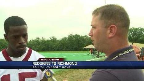 RG3 and fellow Redskins talk about Richmond training camp | Live, Work & Play in the RVA | Scoop.it