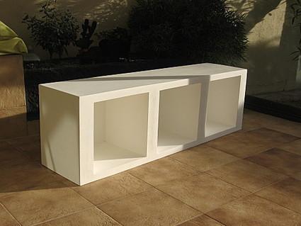 Meuble télé en carton terminé - meubles en carton marie krtonne | meuble en carton | Scoop.it