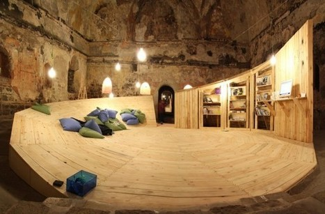 A Pop-Up Library In An Abandoned Turkish Bath | architecture | Scoop.it