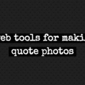 9 web tools to make quote photos - Raven Internet Marketing Tools | Pinterest | Scoop.it