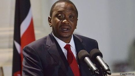 Kenya's Uhuru Kenyatta urges Africa to give up aid - BBC News   Southmoore AP Human Geography   Scoop.it