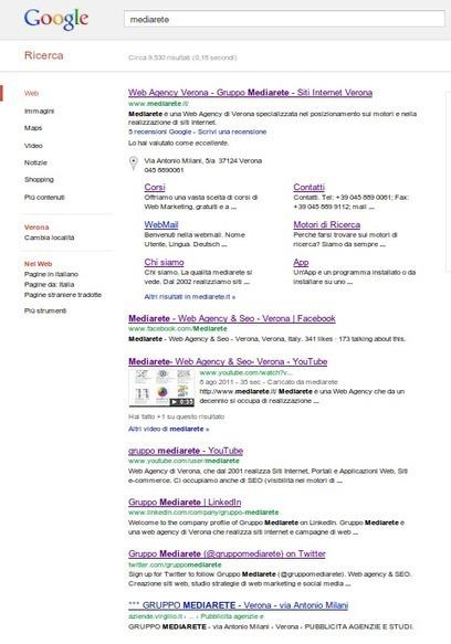 Cosa significa essere nei primi 7 risultati di Google - Web Agency Verona | SEO & Social Media | Scoop.it