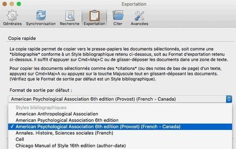 Utiliser Zotero pour insérer des références bibliographiques dans une présentation PowerPoint | Zotero | Scoop.it
