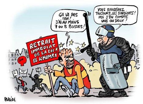 France: loi du travail, mépris et des bosses   Dessins de Presse   Scoop.it