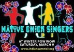 Indian Summer Festival Mid-Winter Pow Wow's Native Chick Singers Show | IDLE NO MORE WISCONSIN | Scoop.it