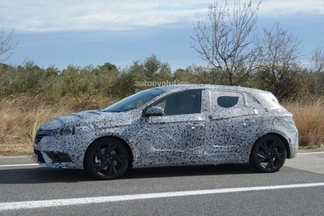 2016 Renault Megane First Images Snatched - SpeedLux | Technology | Scoop.it