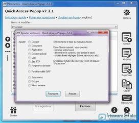 Quick Access Popup : accédez rapidement aux dossiers utilisés fréquemment ~ Freewares & Tutos | Trucs et bitonios hors sujet...ou presque | Scoop.it