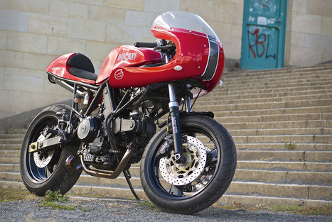 Red Max's 900ss Custom Cafe Racer | Ductalk Ducati News | Scoop.it