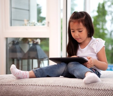 What are pre-schoolers doing with tablets and is it good for them? | Be  e-Safe | Scoop.it