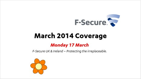 March Coverage (17th) | F-Secure Coverage (UK) | Scoop.it