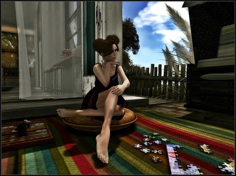 A World in a grain of sand: You are a puzzle to me... | Finding SL Freebies | Scoop.it