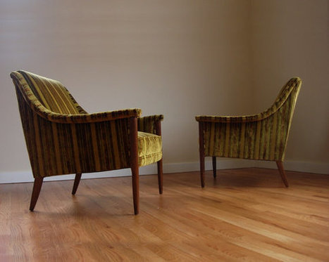 Pair of Mid Century Chairs | In the Shop | Scoop.it