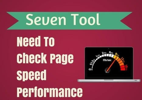 Seven Tools That Help You To Check Page Speed Performance | Seo | Scoop.it