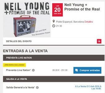 #nynoticias: Confirmado Neil Young en Barcelona | En la Playa de Neil (Young) | Scoop.it