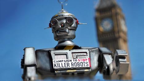 Human rights group seeks ban on autonomous 'killer robots' — RT News   TECHNOCRACY   Scoop.it