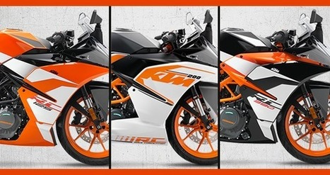 Quick Facts About 2017 KTM RC Series | Maxabout Motorcycles | Scoop.it