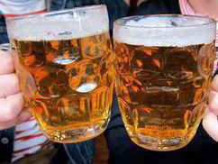 Cancer risk of two beers a year | Health | News | Daily Express | Alcohol and Health News | Scoop.it