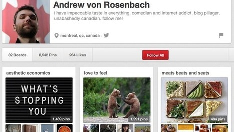 Beyond Bacon And Babes: Meet The Real Men Of Pinterest | Everything Pinterest | Scoop.it