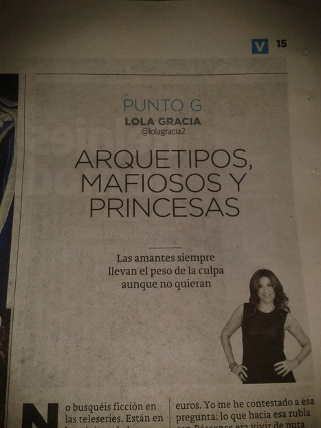 Arquetipos, mafiosos y princesas (Porque nos encanta el cotilleo) - La Verdad (Alicante) | Arquetipos | Scoop.it