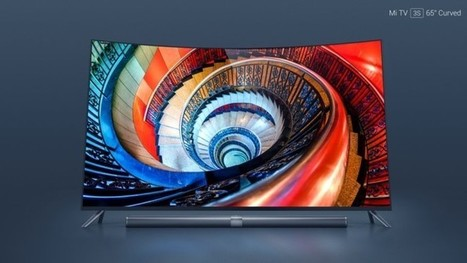 Xiaomi Mi TV 3S : Une TV 4K incurvée de 65 pouces à 1380 dollars | Gadgets - Hightech | Scoop.it