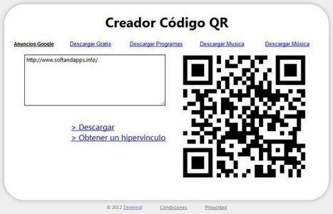 Codice QR da URL, el código QR de cualquier página en un clic con esta extensión para Chrome | Realidad Aumentada | Scoop.it
