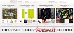 Marketing Tips That'll Make Your Pinterest Board Sing | Pinterest | Scoop.it