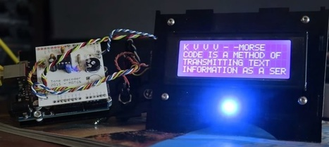 Arduino CW Decoder video by M0TNG | Raspberry Pi | Scoop.it