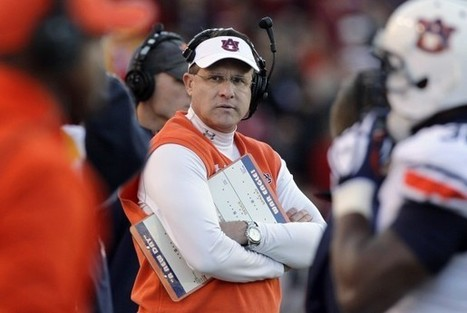 Auburn coach Gus Malzahn plays to his strengths | Performance Project | Scoop.it