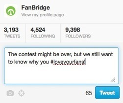Getting Value from Social Media Contests - FanBridge Blog | Bands Online | Scoop.it