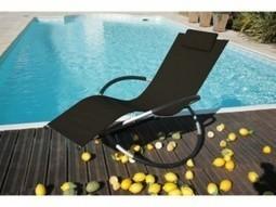 Chaises longues au design original - Actualité et Buzz | Maison & Jardin | Scoop.it