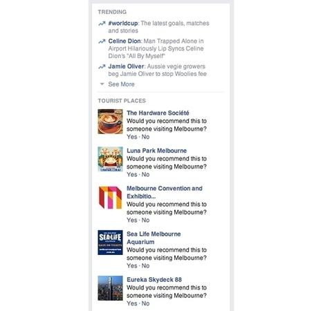 Facebook Testing Tourist Places Module? - AllFacebook   Digital-News on Scoop.it today   Scoop.it