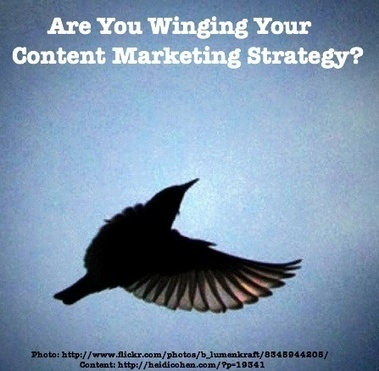 Are You Winging Content Marketing Strategy? - Heidi Cohen | Public Relations & Social Media Insight | Scoop.it